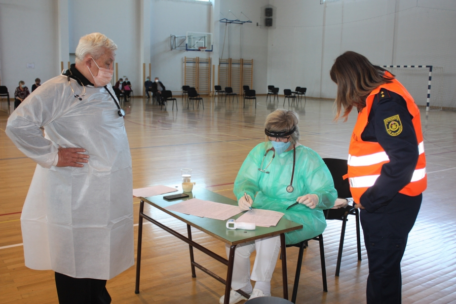 Cijepljenje građana s područja grada Pleternice