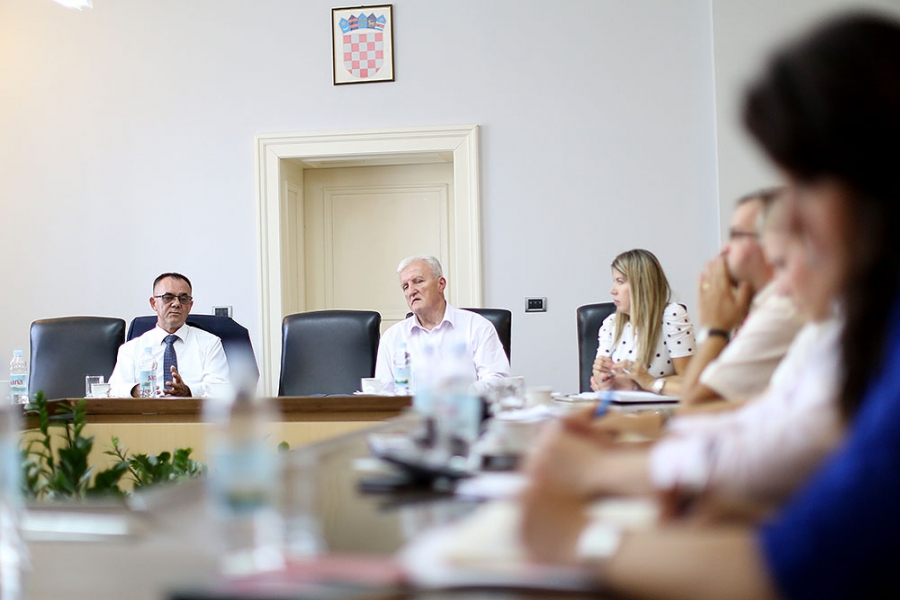 Sastanak slavonskih župana na temu zajedničkih strateških projekata uoči sjednice Savjeta za Slavoniju, Baranju i Srijem