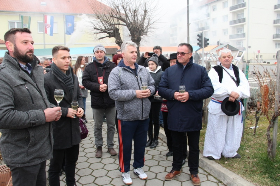 Proslava Vincelova na Trgu graševine u Kutjevu
