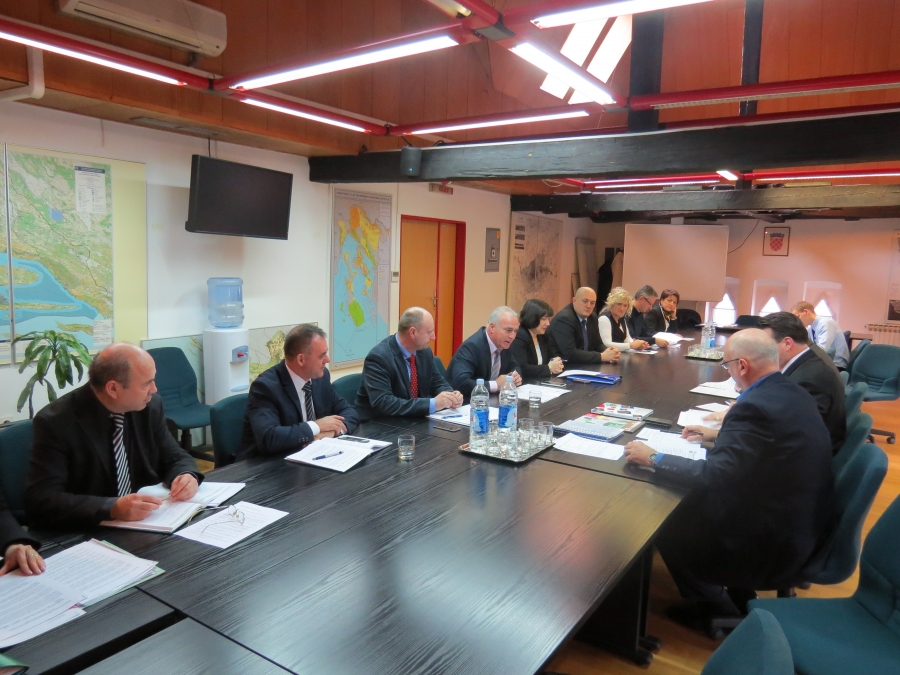 Predstavnici Hrvatske zajednice županija na sastanku u Ministarstvu graditeljstva i prostornog uređenja