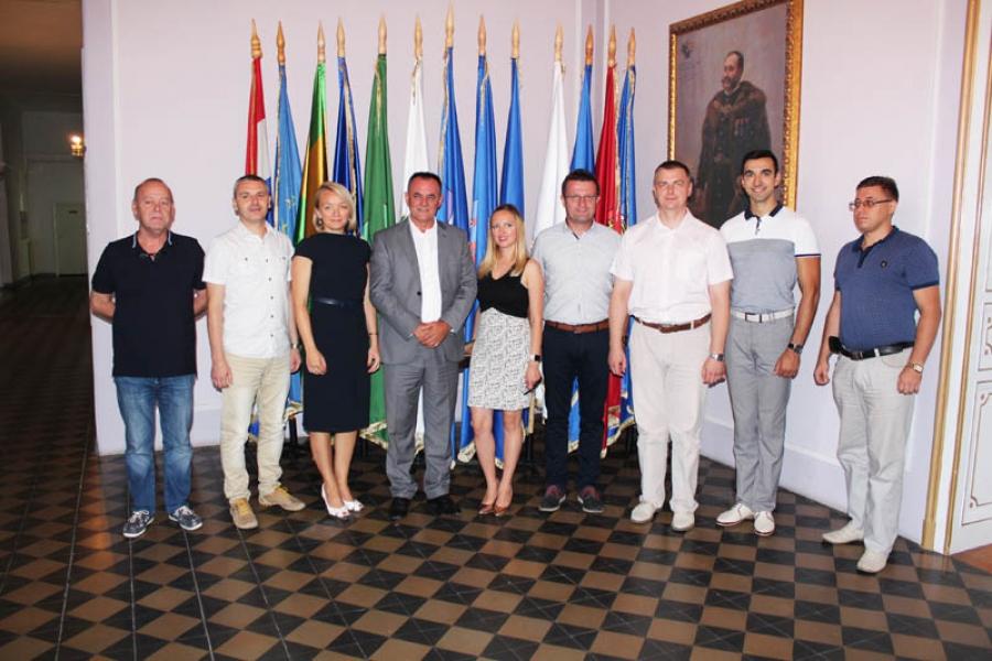 Predstavnici Ekonomskog fakulteta iz Ukrajine posjetili Požeško-slavonsku županiju