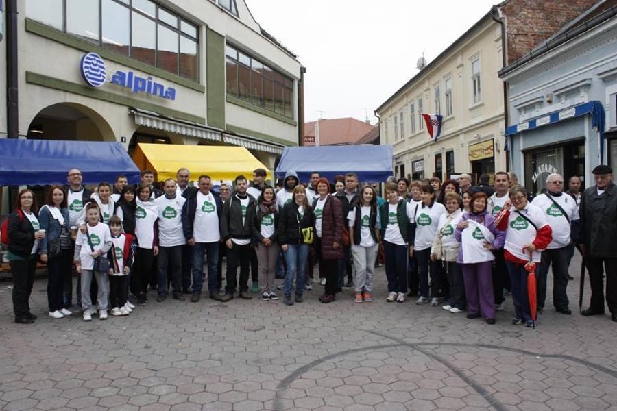 Župan podržao akciju Hodanjem do zdravlja