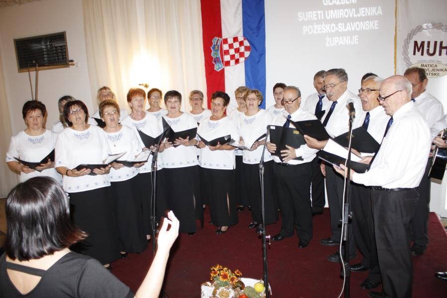 Održani 14. susreti pjevačkih zborova umirovljenika Požeško - slavonske županije