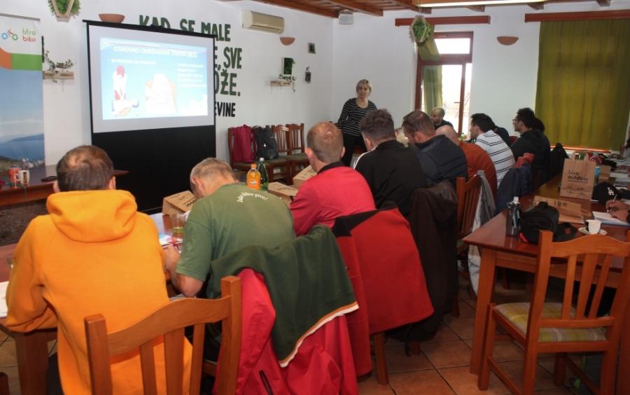 Edukacija za bike vodiče u sklopu cikloturizma županije