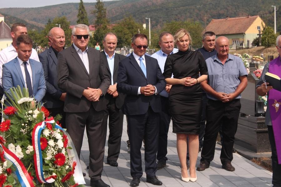 Polaganje vijenaca povodom Dana Grada Kutjeva