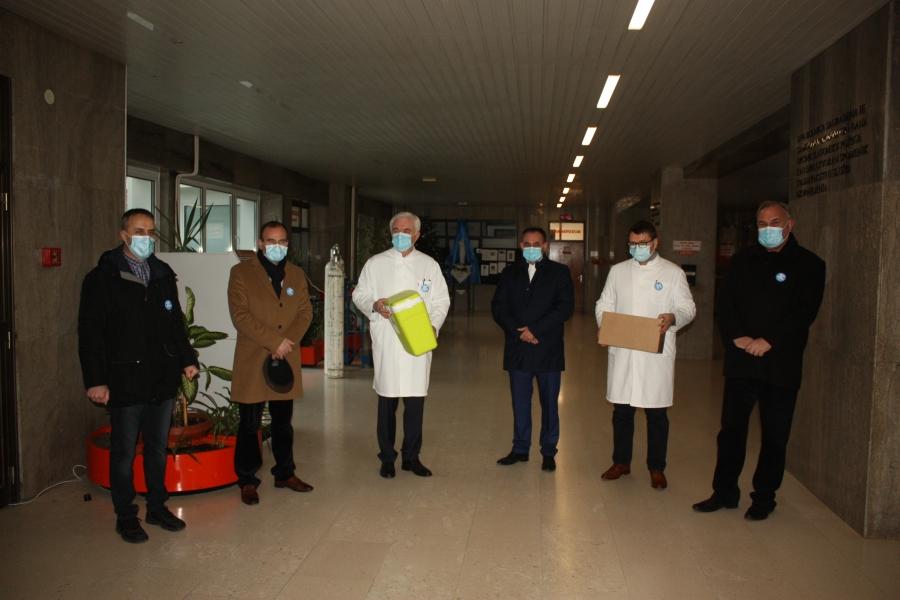 U Požeško-slavonsku županiju stigle prve doze cjepiva protiv korona virusa