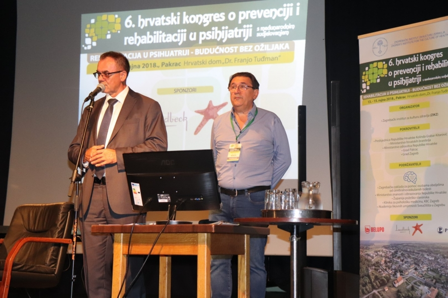 Svečanim otvorenjem počeo 6. hrvatski kongres o prevenciji i rehabilitaciji u psihijatriji