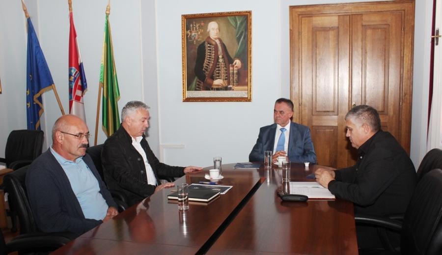 Sastanak sa predstavnicima Hrvatskih duhana na temu stanja proizvodnje na području Županije