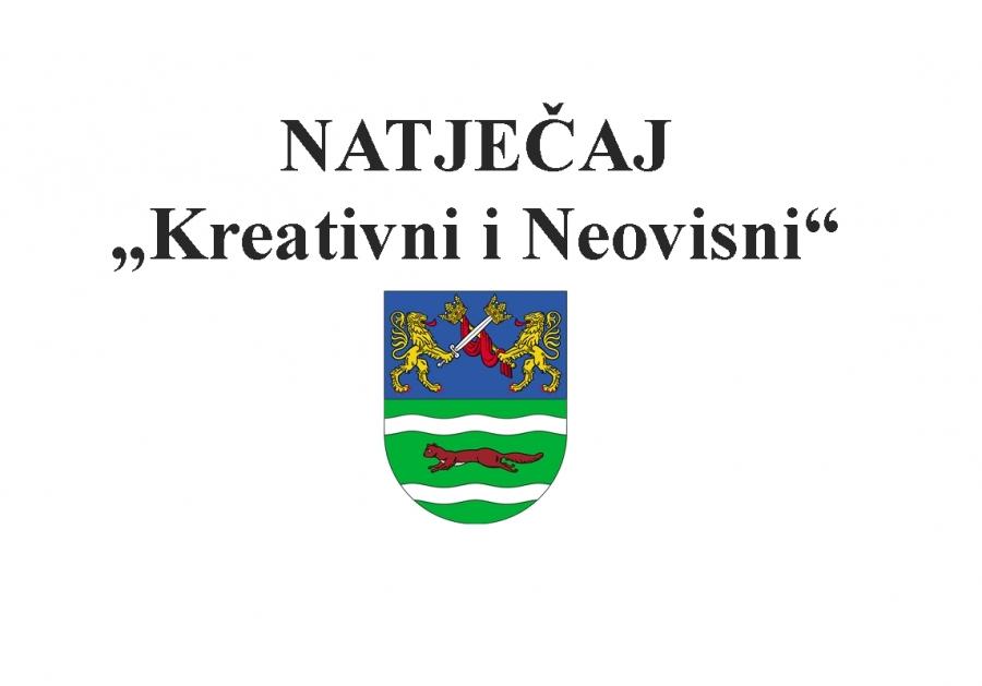 """Natječaj """"Kreativni i neovisni"""""""