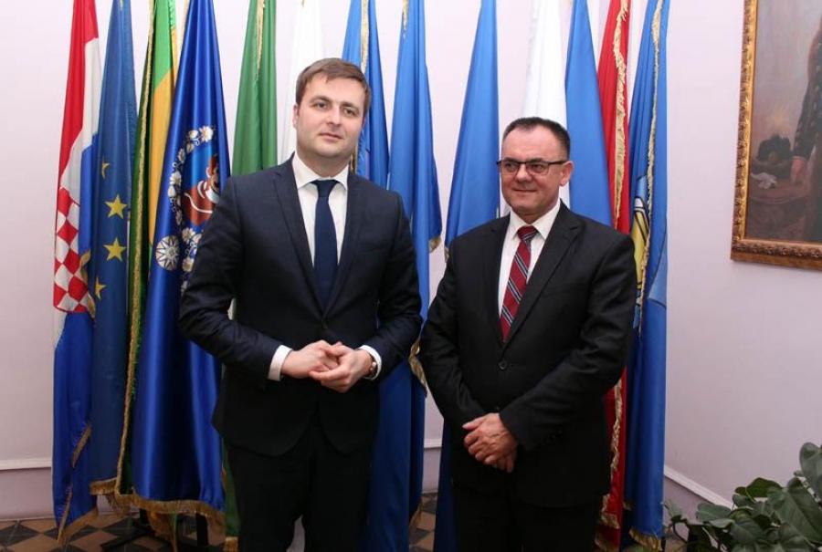Ministar Ćorić u radnom posjetu Požeško-slavonskoj županiji