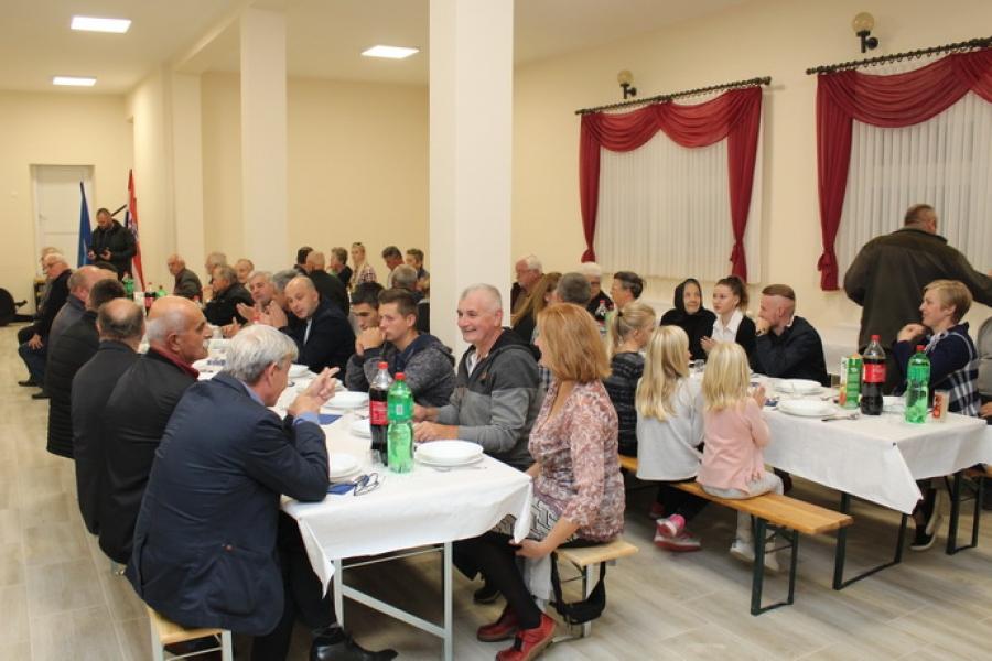 Obnovljen i opremljen Društveni dom u Orljavcu