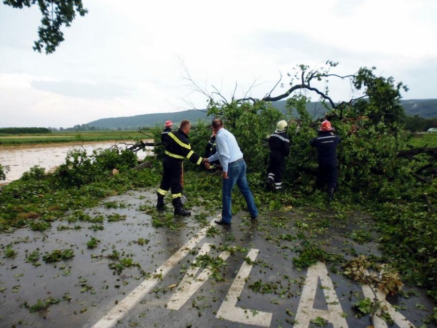 Župan obišao stradala područja u olujnom nevremenu