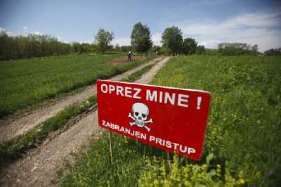 Požeško-slavonskoj županiji 31,7 milijuna kuna za razminiranje