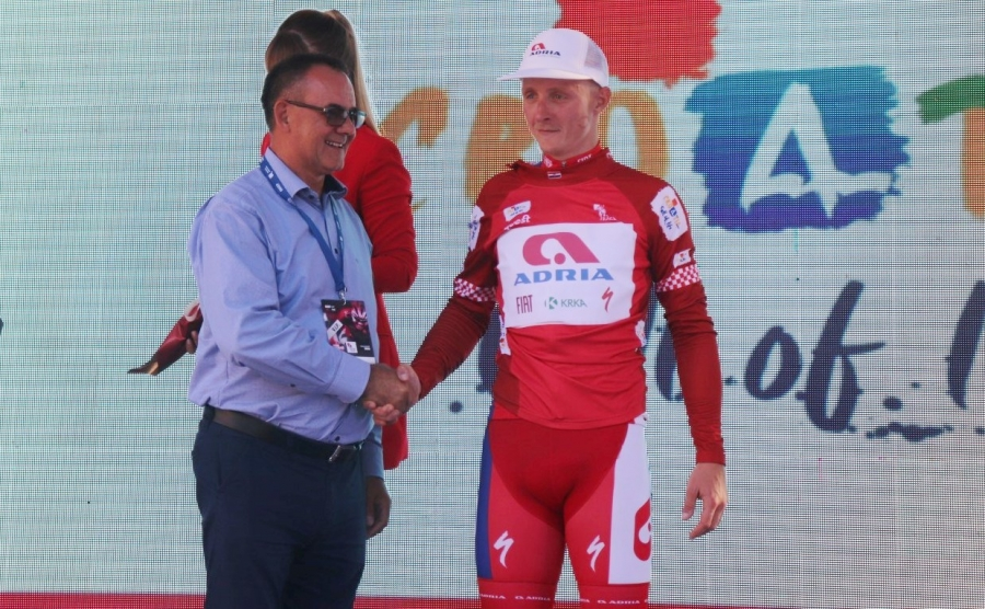 Kadrovi najljepše županije u prvoj etapi Međunarodne biciklističke utrke CRO Race