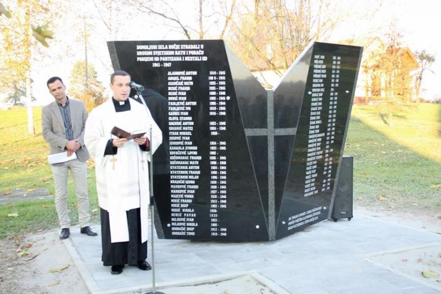 U Bučju otkriven spomenik mještanima stradalim tijekom II. svjetskog rata