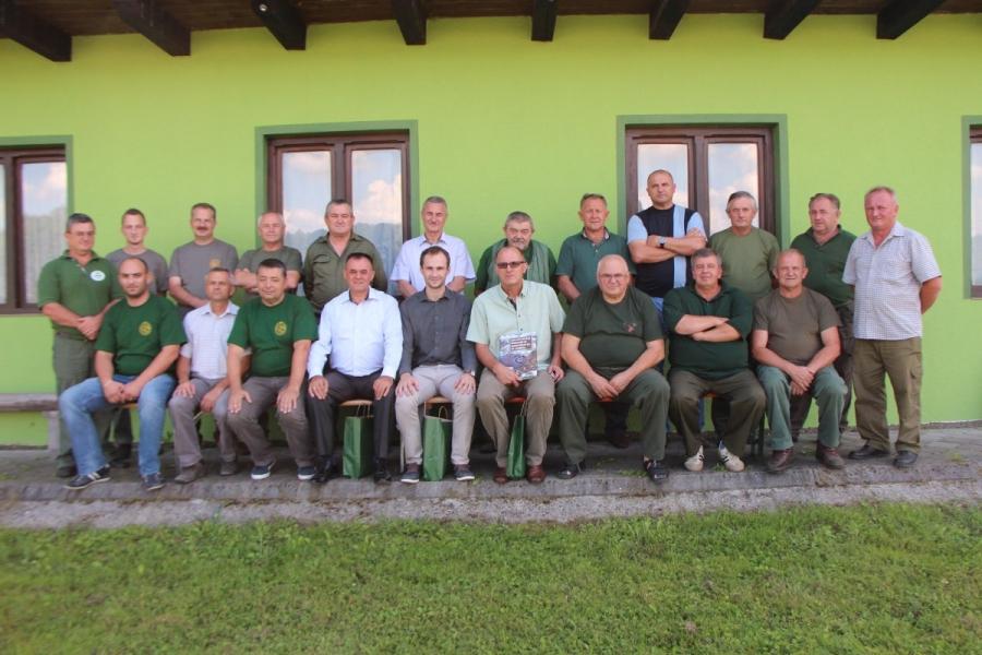 Donacija lovačkog saveza Splitsko-dalmatinske županije pleterničkom lovištu