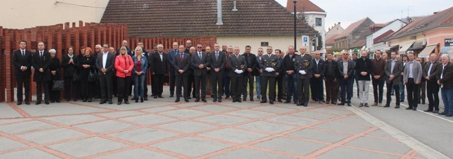 Polaganje vijenaca povodom 27. godišnjice osnutka 123. Brigade