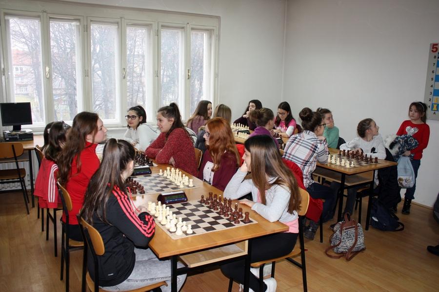 Regionalno natjecanje u šahu za osnovne škole