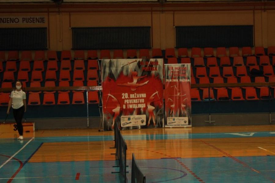 Održano 20. državno prvenstvo u twirlingu