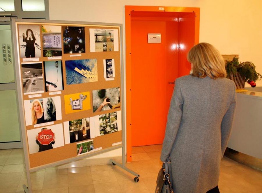 U Gimnaziji otvorena izložba radova Kreativni i neovisni