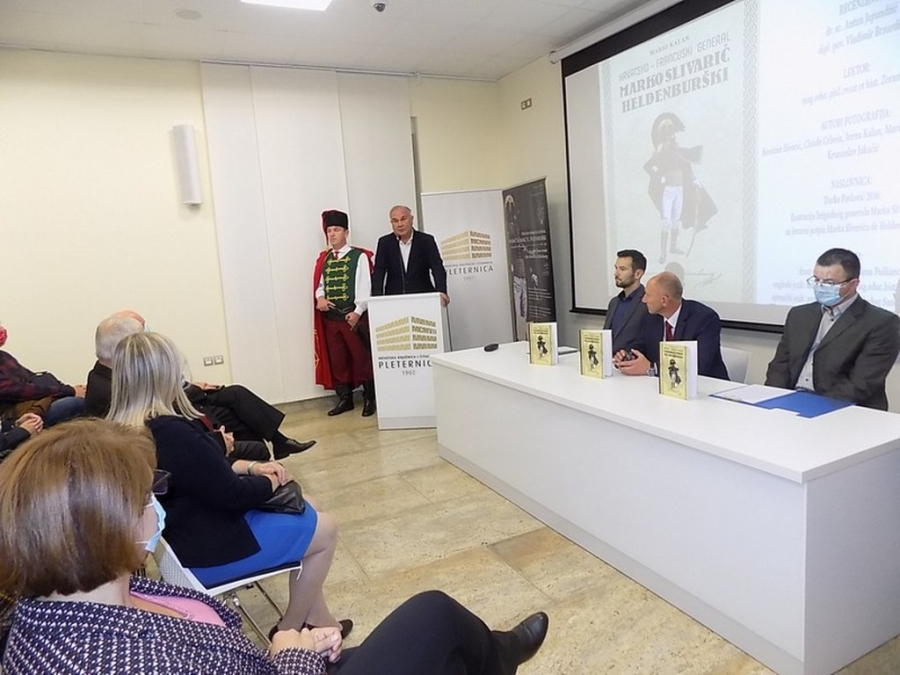 Predstavljena knjiga o hrvatsko – francuskom generalu Marku Slivariću Heldenburškom autora Maria Kalana