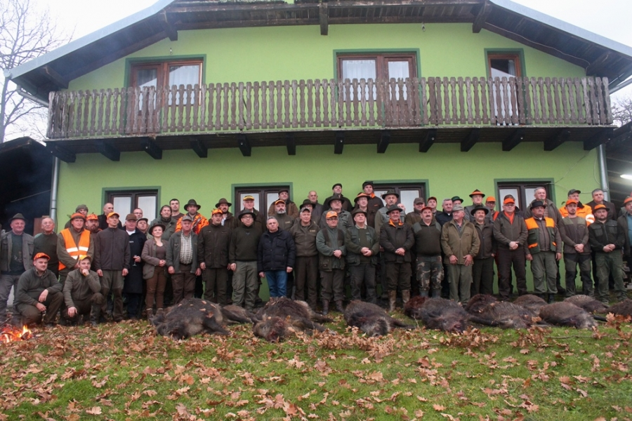 Održan 7. županov humanitarni lov na lovištu u Bzenici