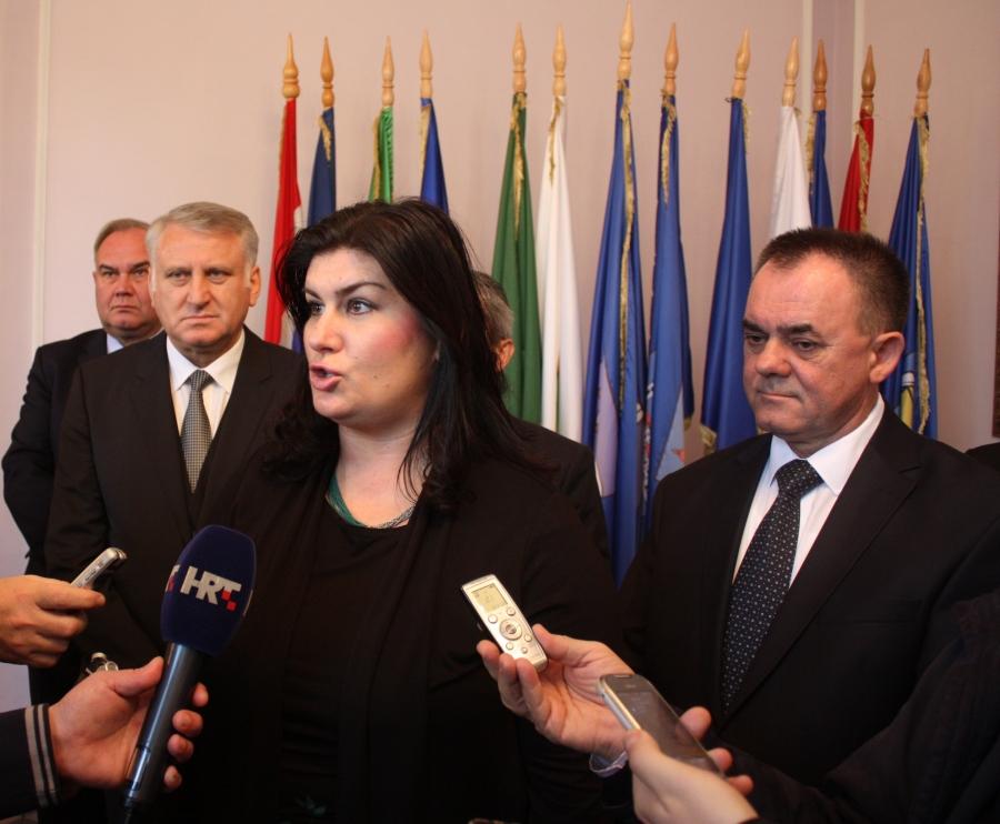 Ministrica regionalnog razvoja i fondova EU u radnom posjetu Požeško-slavonskoj županiji