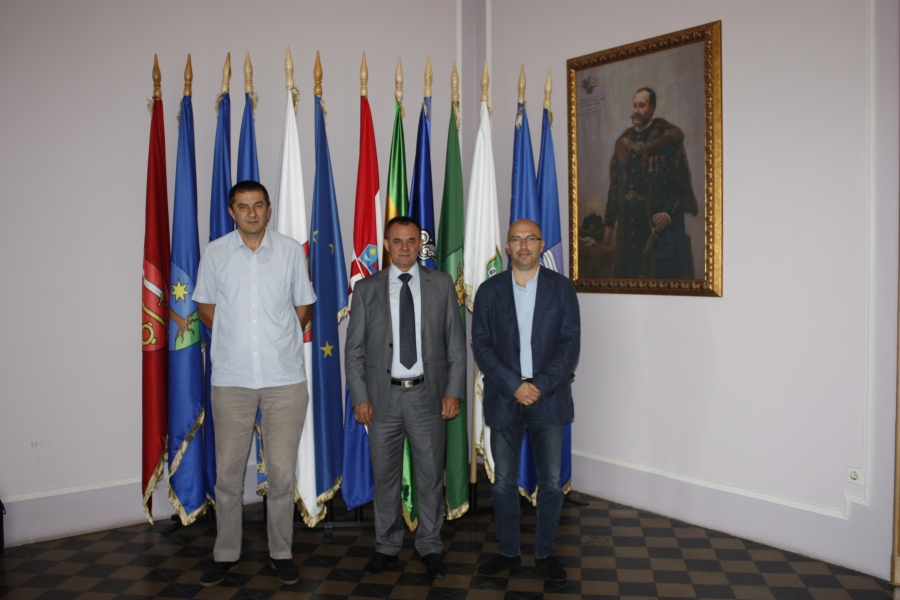 Ravnatelj Memorijalnog centra Domovinskog rata Vukovar kod župana