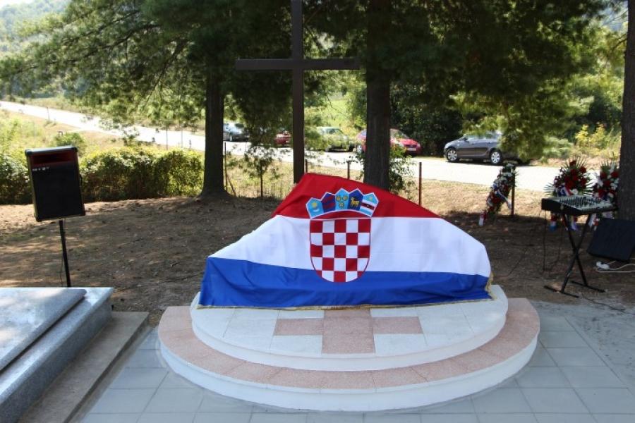 Otkriveno spomen obilježje žrtvama župe Ruševo i Đakovštine