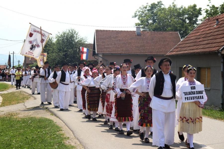 """Kulturno-umjetničko društvo """"Seljačka sloga"""" Prekopakra obilježili 90 godina postojanja, rada i djelovanja"""