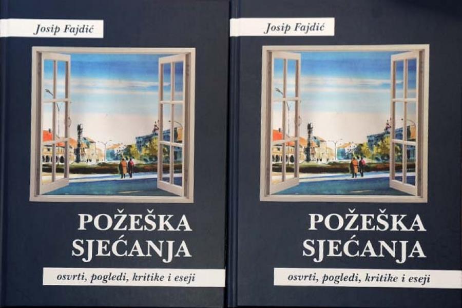 Promocija knjige Josipa Fajdića – Požeška sjećanja : osvrti, pogledi, kritike i eseji