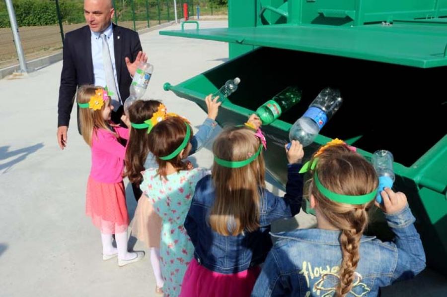Otvorenje Reciklažnog dvorišta u gradu Požegi