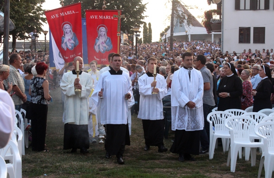 Središnje euharistijsko slavlje Gospi od Suza