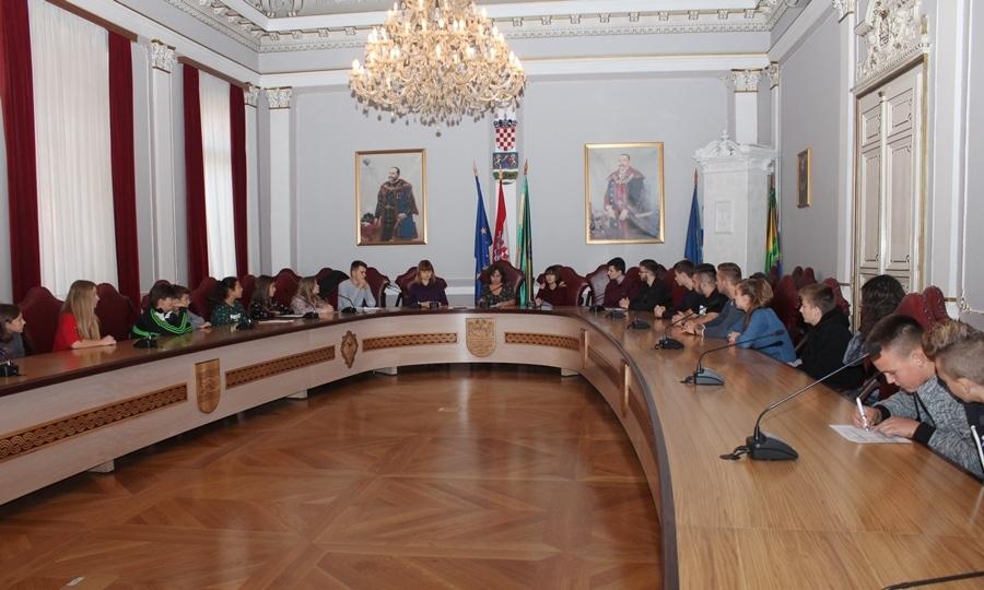 Konstituiranje i izbor predsjednika županijskog vijeća učenika