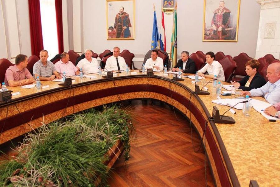 Župan održao redovnu koordinaciju s gradonačelnicima i načelnicima