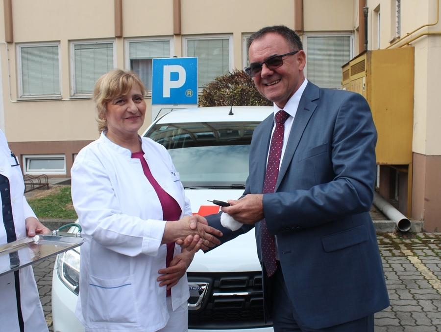 Primopredaja novih vozila za službu patronaže, kućne njege i palijative
