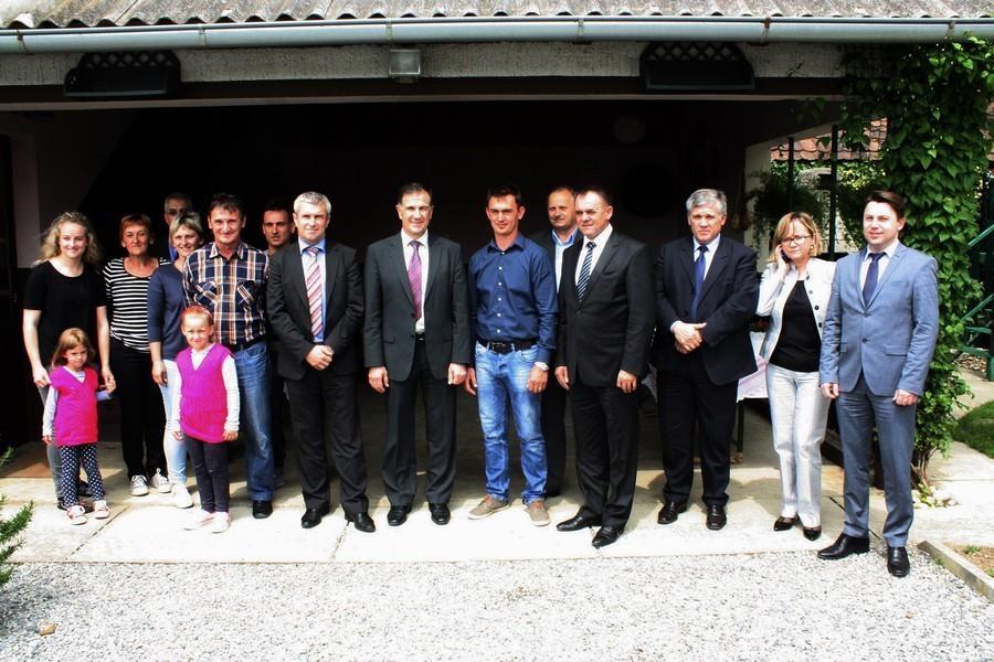 Ministar poljoprivrede u radnom posjetu Požeško - slavonskoj županiji