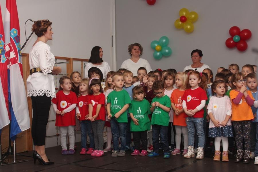 Otvorenje dograđenog dijela Dječjeg vrtića Tratinčica u Pleternici