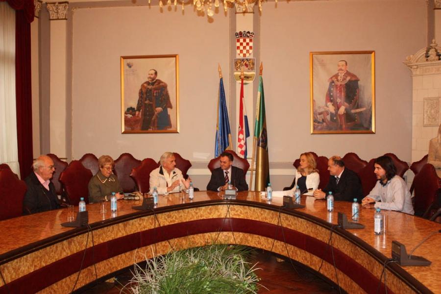 Župan Tomašević primio Hrvate iz Boke Kotorske