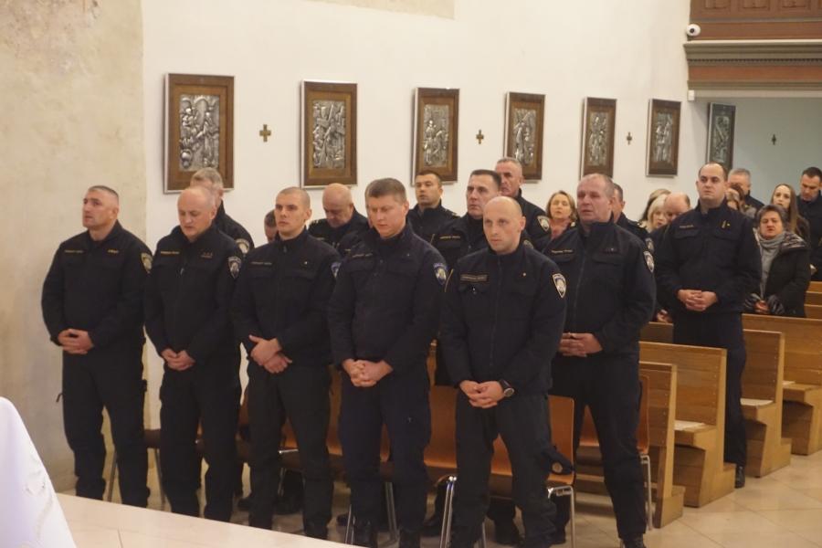 Obilježen Dan policijske kapelanije u Požegi