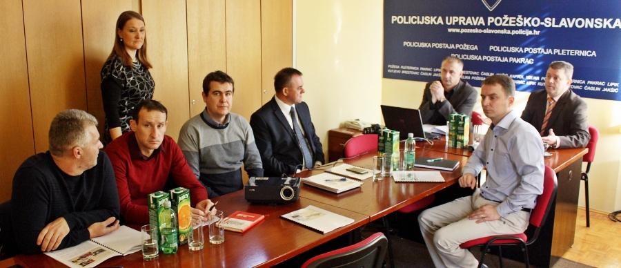 Godišnje izvješće o radu Policijske uprave Požeško - slavonske županije