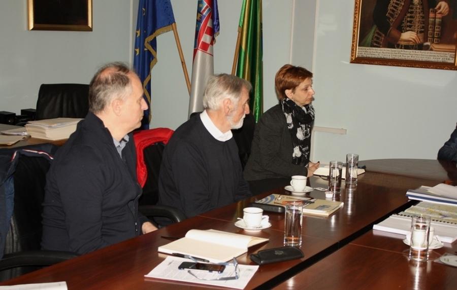 Radni sastanak s predstavnicima Hrvatskih voda