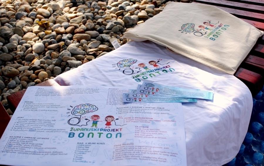 Predstavljanje županijskog projekta ,,Bonton'' u Požegi