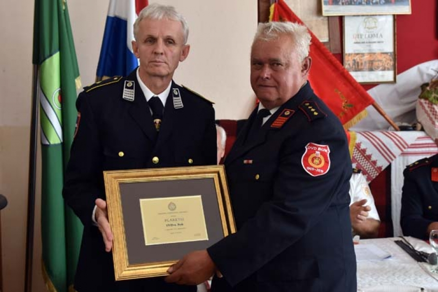 Obilježena 110. obljetnica Dobrovoljnog vatrogasnog društva Buk
