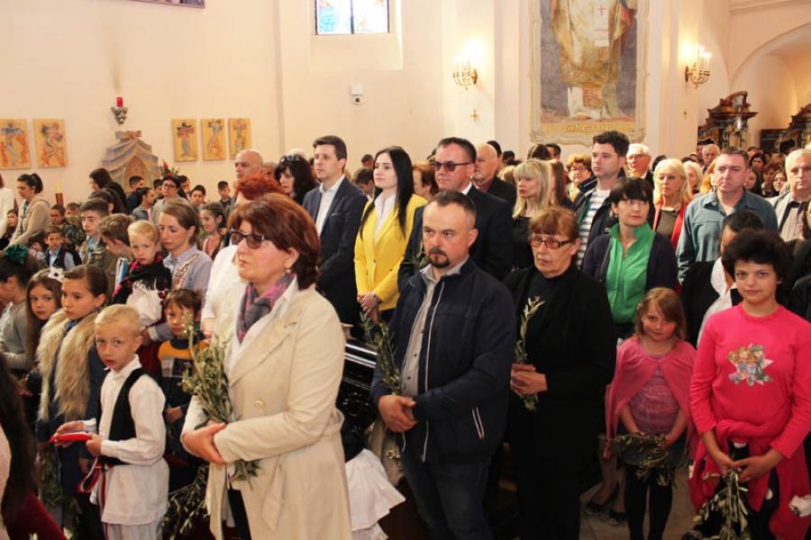 Cvjetnica u Katedrali sv. Terezije Avilske