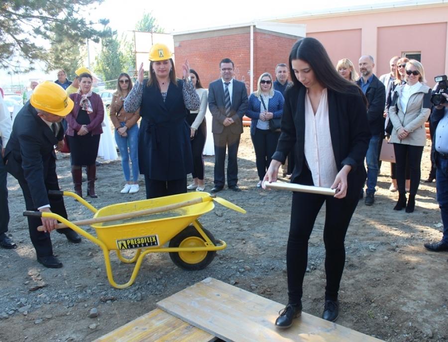 Polaganjem kamena temeljca otvoreni radovi na studentskom domu u Požegi