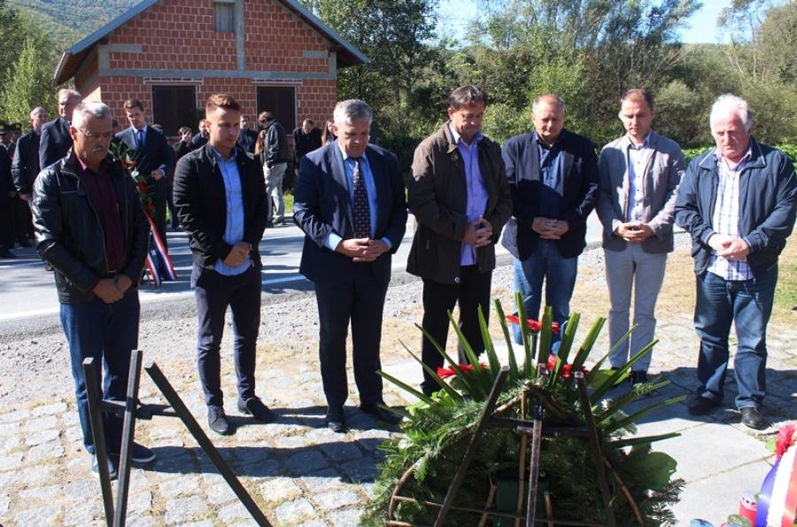 U Kamenskoj obilježena 27. obljetnica prve vojne akcije i sjećanje na poginule hrvatske branitelje