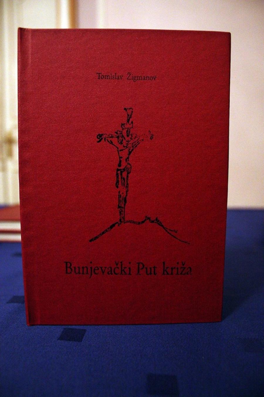"""Predstavljena knjiga """"Bački Put križa"""" Tomislava Žigmanova"""
