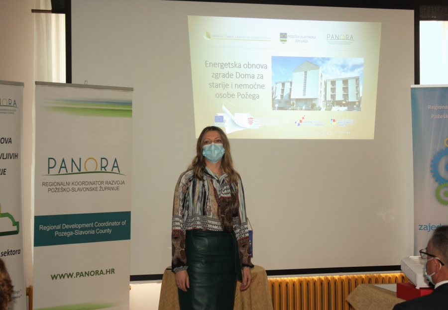 Završna konferencija projekta Energetska obnova zgrade Doma za starije i nemoćne osobe Požega