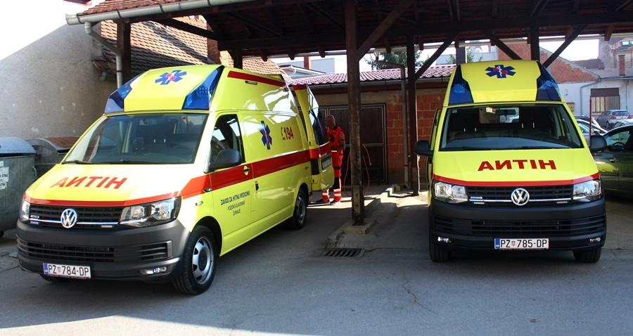 Primopredaja vozila hitne medicinske pomoći